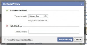 Facebook Tip - Showing Hiding Posts from Specific People or Lists