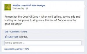 Facebook Post Status Insights