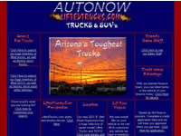 Autonow Lifted Truck Database Site